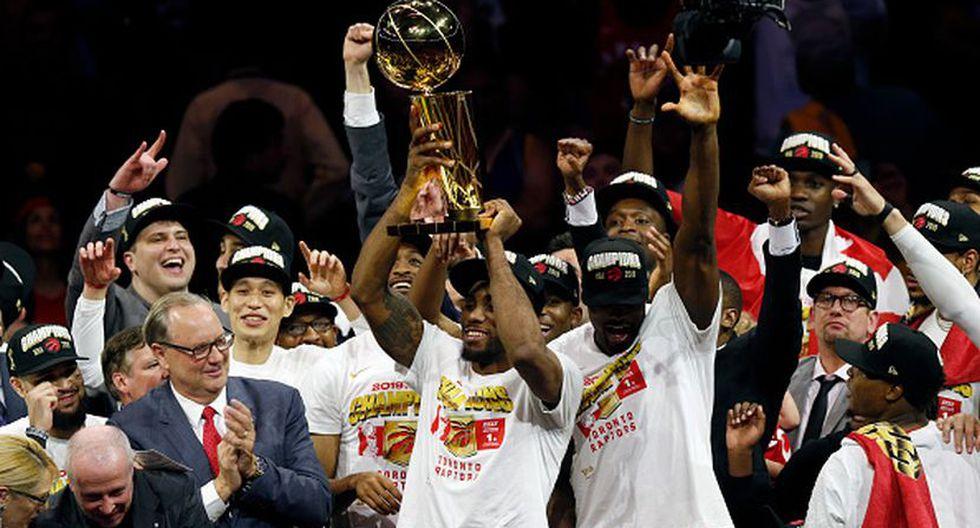 Los Toronto Raptors se coronaron en la Temporada 2018-2019 de la NBA. (Getty Images)