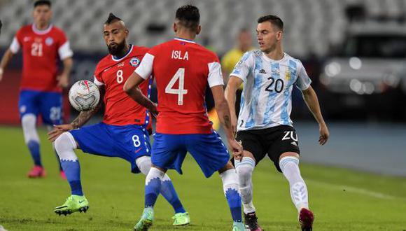 Goles Argentina Vs Chile 1 1 Resumen Anotaciones E Incidencias Del Duelo Por Copa América 2021 Video Futbol Internacional Depor
