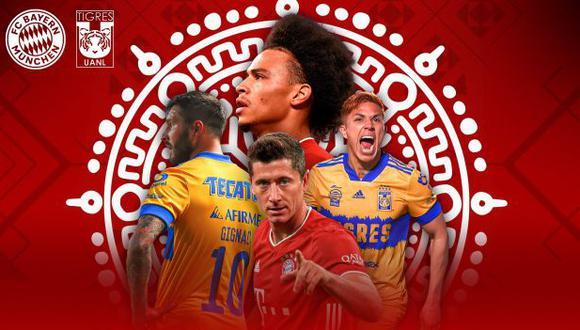 Tigres y Bayern Munich definirán al campeón del Mundial de Clubes 2020. (Foto: Bayern Munich)