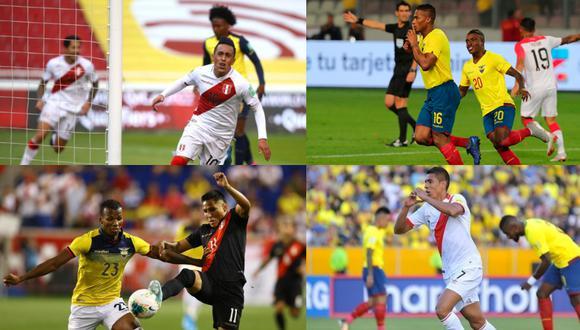 Gareca no perdió con Perú ante Ecuador en duelos oficiales. (Foto: Agencias)