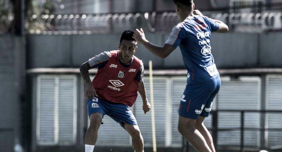 Christian Cieva es uno de los jugadores menor pagados en Santos. (Prensa Santos FC)