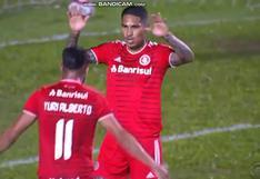 ¡Acabou cao! Paolo Guerrero anotó con Internacional y se reencontró con el gol [VIDEO]