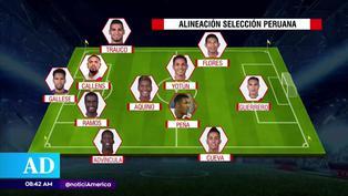 Perú vs. Chile: El once que ensayó Ricardo Gareca  de cara al duelo por Eliminatorias
