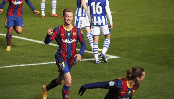 Barcelona vs. Real Sociedad por semifinales de la Supercopa de España. (Foto: Reuters)