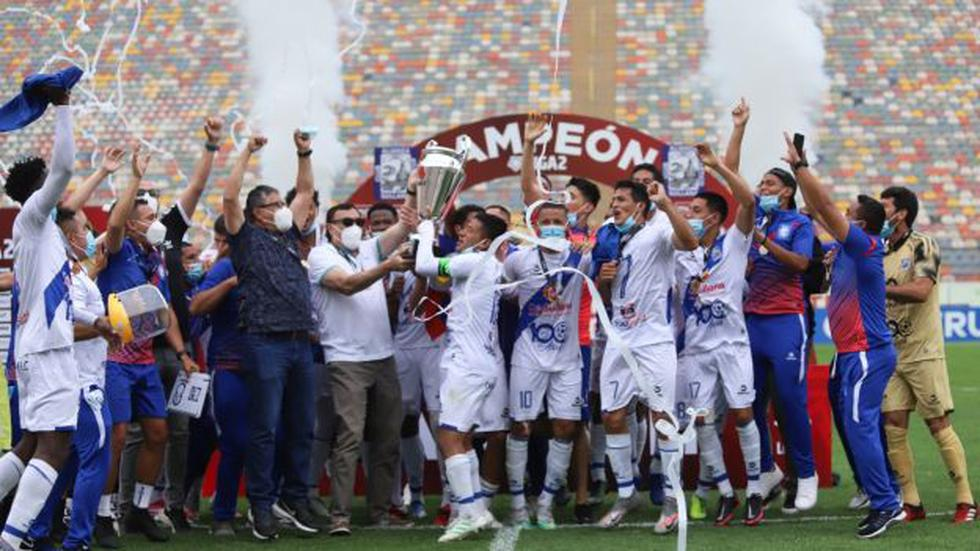Alianza Atlético se coronó campeón de la Liga 2. (Foto: Liga De Fútbol Profesional)