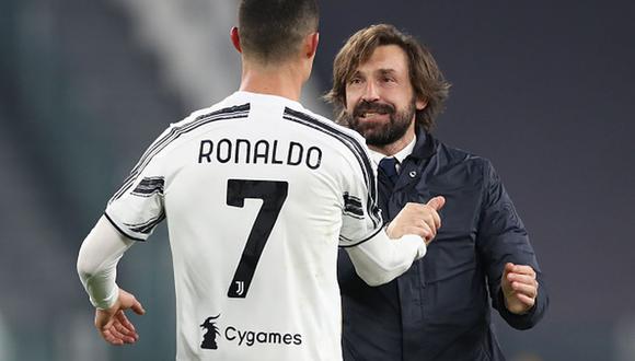 Andrea Pirlo vive su primera temporada como DT de Juventus. (Getty)