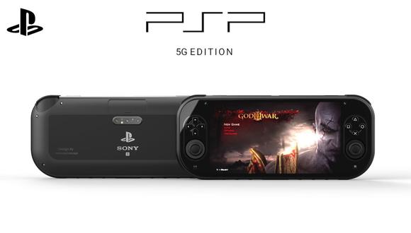 Así se vería una nueva consola portátil de PlayStation PSP según diseñador. (Foto: Technizo Concept)