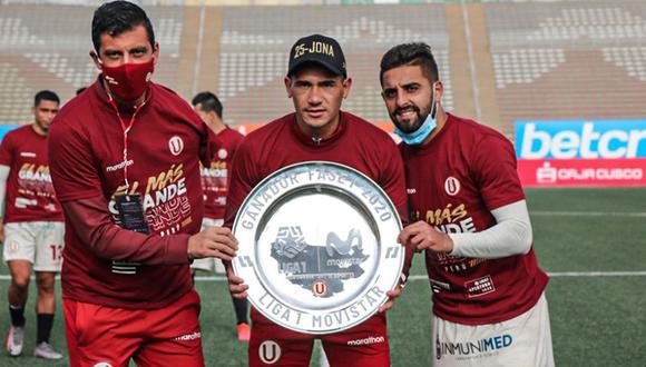 Universitario podría quedarse sin los uruguayos. (Foto: Liga 1)