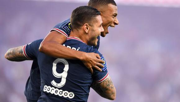 PSG venció por 4-2 a Estrasburgo en la segunda fecha de la Ligue 1. (Foto: ESPN)