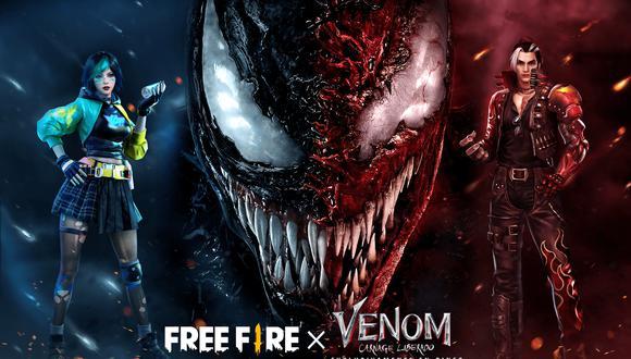 Free Fire: Venom será protagonista de un evento en el Battle Royale. (Foto: Garena)