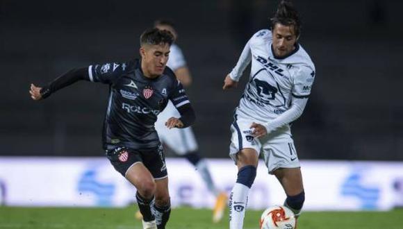 Pumas venció por 1-0 a Necaxa en la jornada 14 de la Liga MX 2021. (Foto: Twitter)