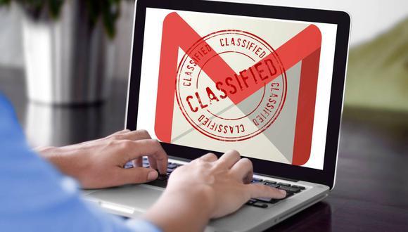 Con esta herramienta todos los correos que contengan información personal o confidencial estarán seguros (Foto: Mockup / Composición Mag / Gmail)