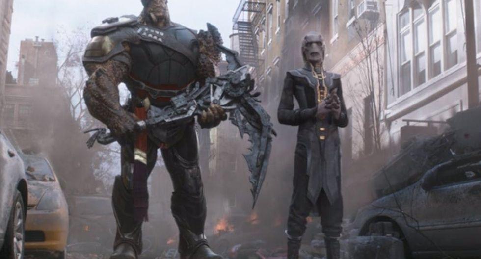 "Marvel: Joe Russo, director de Avengers: Endgame"", te muestra el tmaño real de Cull Obsidian. (Foto: Marvel)"