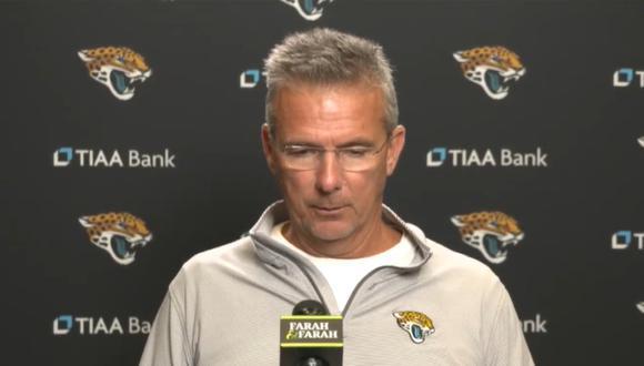 Urban Meyer se disculpa con Jaguars y su familia por video viral. (Foto: YouTube  Jacksonville Jaguars)