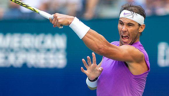 Rafael Nadal es el actual número dos del mundo. (Getty Images)