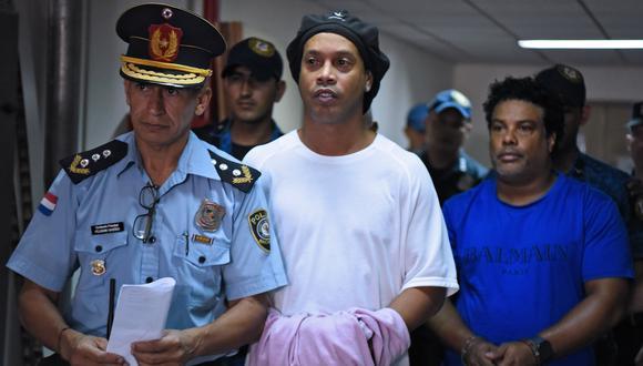 El exastro brasileño y su hermano Roberto fueron acusados de uso de documentos paraguayos adulterados. (Foto: AFP)