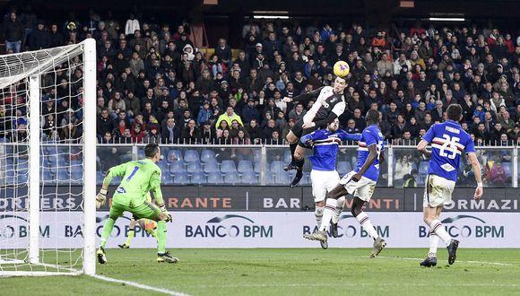 Cristiano Ronaldo llegó a su gol 69 de cabeza. (Foto: AP)
