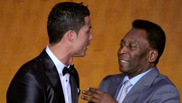 Pelé actualizó su biografía en Instagram tras el doblete de Cristiano Ronaldo a Udinese. (Foto: AFP)