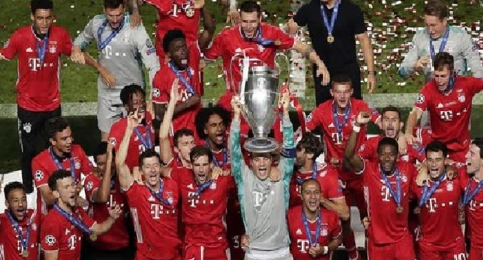 El XI del Bayern Munich que con solo 105 millones de euros ganó la Champions League