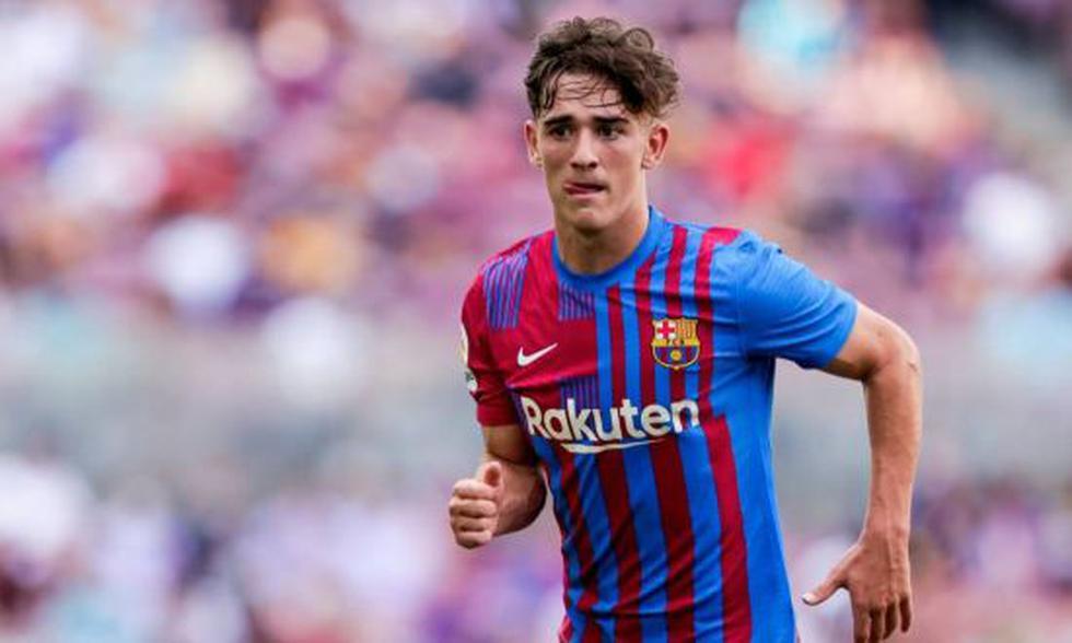 Gavi, la revelación del FC Barcelona y de la Selección de España, está viviendo un gran momento en la élite europea. (Foto: Agencias)