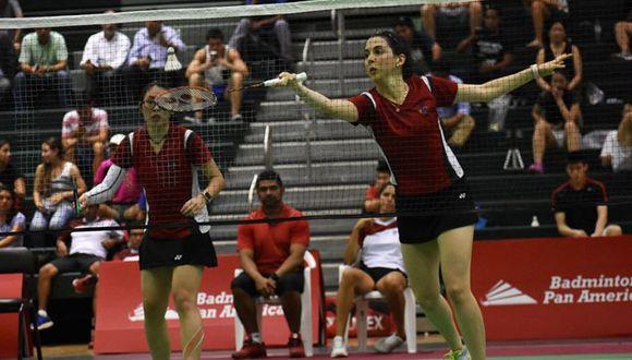 Danica Nishimura y Daniela Macías nos representaron en los Juegos Panamericanos Lima 2019. (Foto: Bádminton Perú)