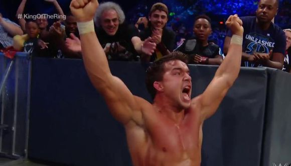 Chad Gable accedió a las semifinales del King of the Ring. (WWE)