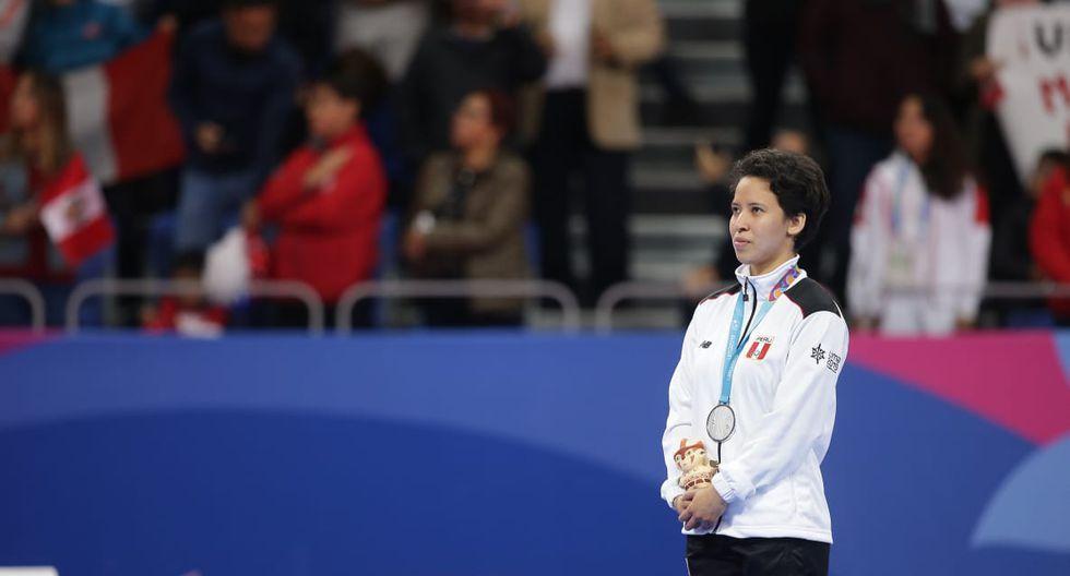 Marcela Castillo: Medalla de plata en Taekwondo Poomsae. (Foto: Jesus Saucedo / GEC)