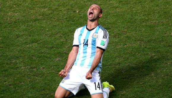 Selección de Argentina se despidió de Mascherano (Foto: AFA)