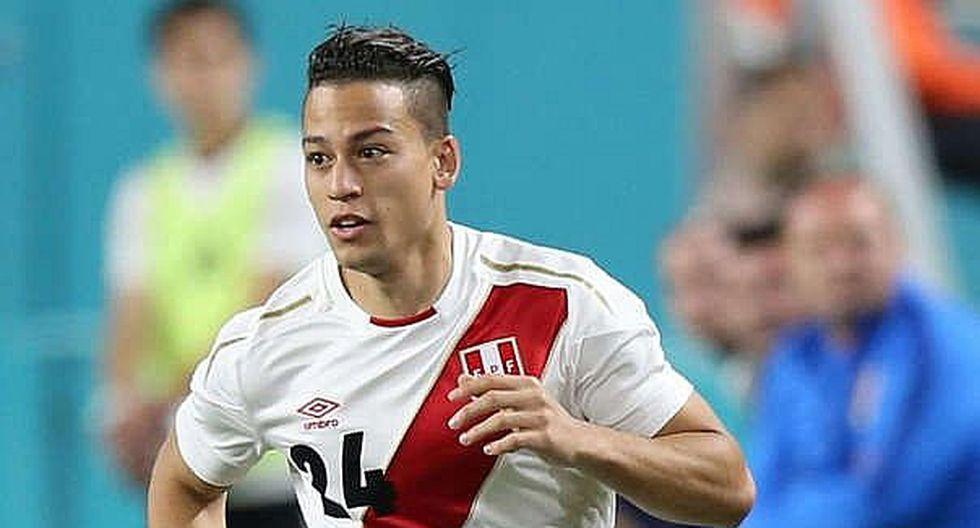 Cristian Benavente utilizó la camiseta '24' en la Selección Peruana. (Foto: GEC)