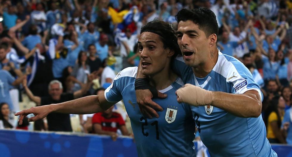 Edinson Cavani es el goleador actual de la selección uruguaya en la Copa América 2019. | Getty Images
