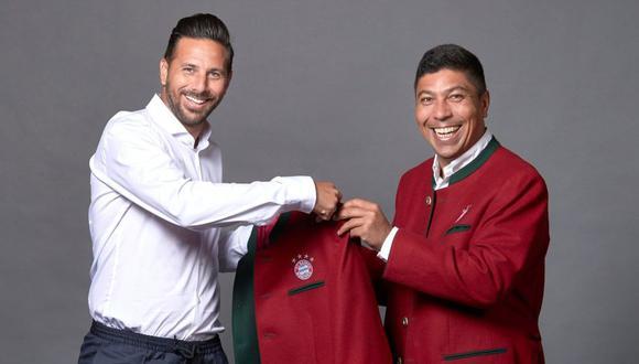 Pizarro es embajador de Bayern Munich (FCB)