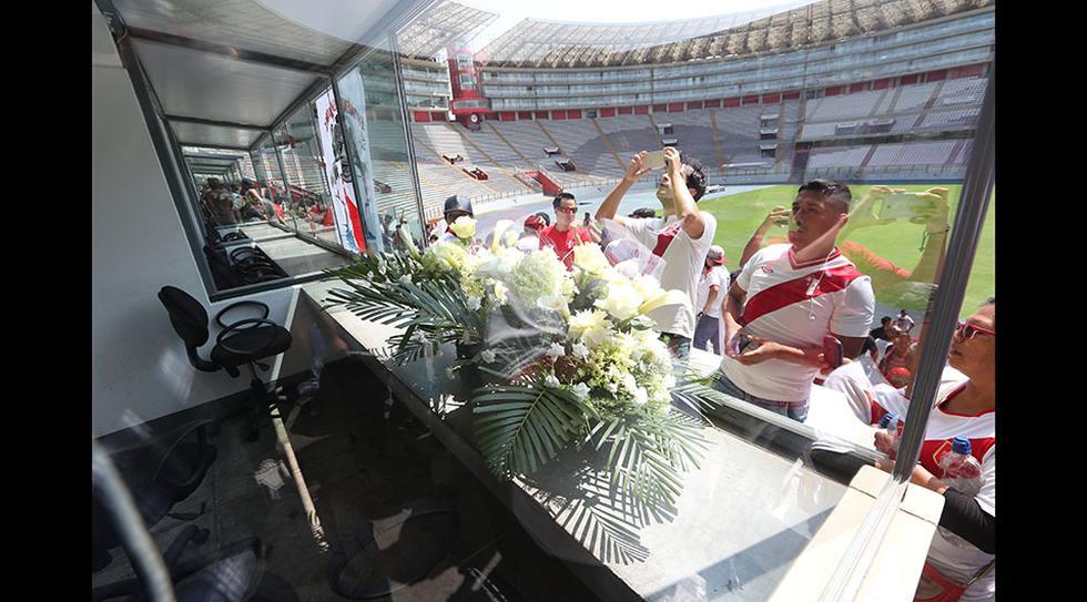 La cabina de televisión del Estadio Nacional fue nombrada Daniel Peredo, en homenaje al periodista deportivo. (Foto: Rolly Reyna/GEC)