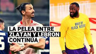La NBA le declara la guerra a Zlatan Ibrahimovic tras su polémica con LeBron