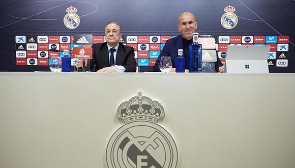 Zinedine Zidane ganó tres Champions League con el Real Madrid. (Getty)