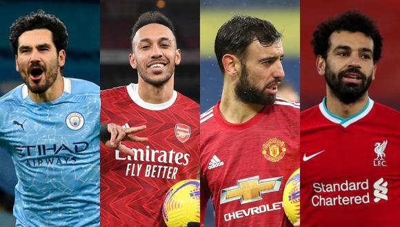 Sábado y domingo de fútbol en Inglaterra en busca del primer lugar en Premier League.