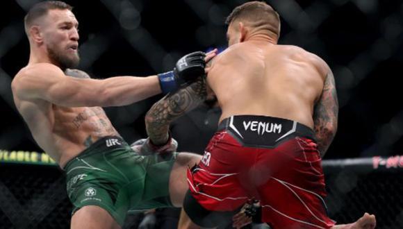 """Conor McGregor sobre su terrible lesión en el pie: """"Hice sparring sin espinilleras y entrené cuando me dolía el tobillo"""". (Getty Images)"""
