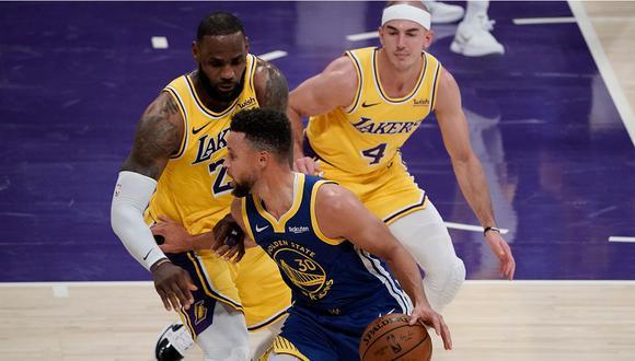 Así quedaron los cruces para el 'play-in' de la NBA 2020/21. (NBA)