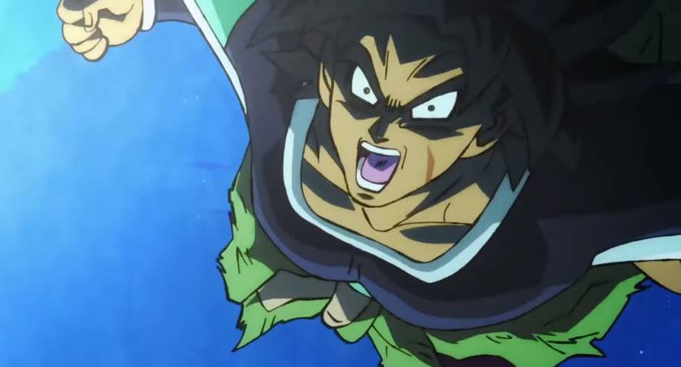 Broly se lanza al ataque en el tráiler oficial de Dragon Ball Super: Broly (Video: Toei Animation)