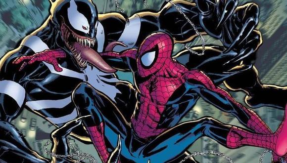Spider-Man contra Venom en los cómics de Marvel