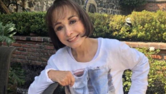 """La actriz mexicana es reconocida por su papel de la 'Chilindrina' en la serie """"El Chavo del 8"""" (Foto: María Antonieta de las Nieves / Instagram)"""