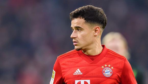 Coutinho llegó al Bayern Munich en 2019 en calidad de préstamo. (Getty)