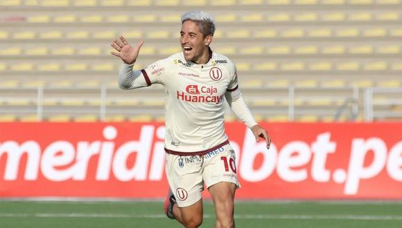 Con 11 goles, Alejandro Hohberg es uno de los máximos artilleros de Universitario de Deportes.
