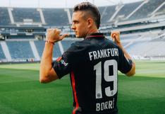 """Santos Borré con confianza en Frankfurt: """"Llego al equipo ideal para destacar"""""""