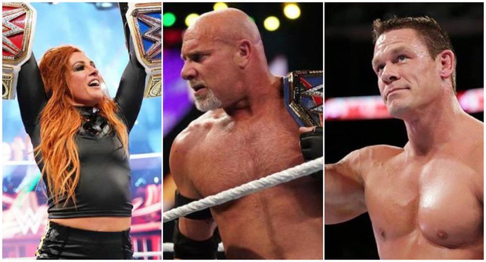 Las principales figuras de WWE que no estarán en WrestleMania 37. (WWE)
