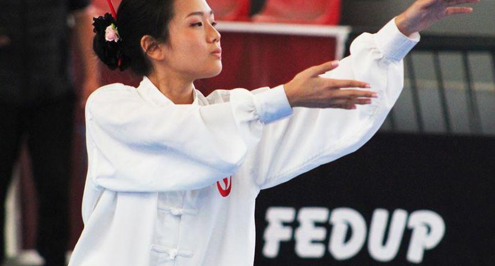 Taolu (formas) es una de las dos modalidades del Wushu. La otra es Sanda (combate).
