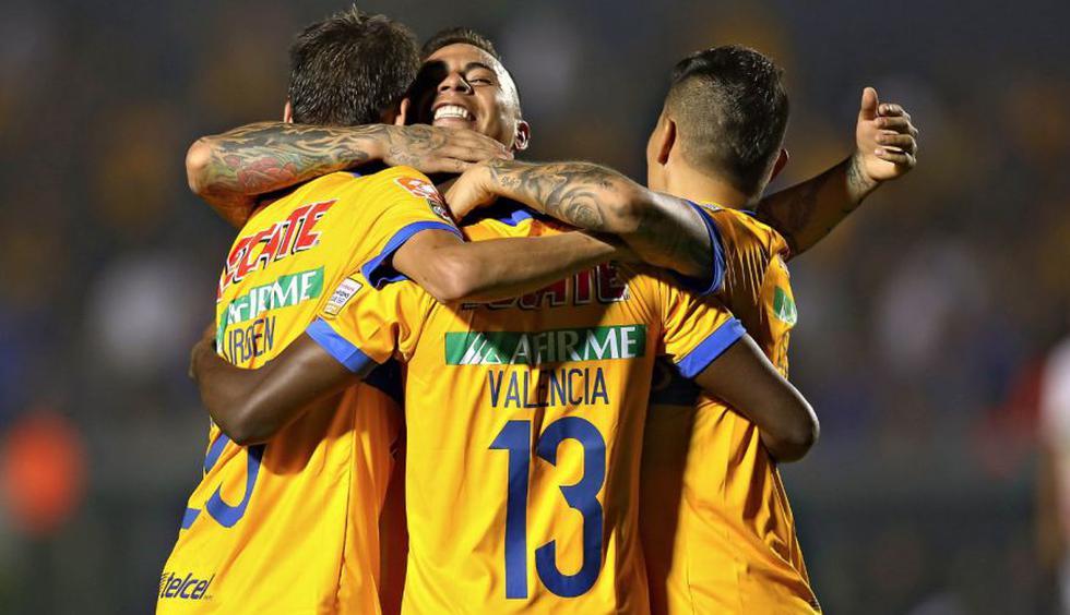 Tigres ganó 3-1 a Herediano y pasó a cuartos de final de Concachampions (Fotos: Difusión).