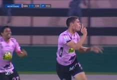 Es un 'pistolero': Sebastián Gonzáles le marcó golazo a Sporting Cristal por la Copa Bicentenario [VIDEO]
