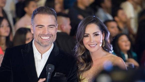 """Villalobos y Manrique se hicieron muy amigos durante las grabaciones de la exitosa saga de Telemundo, que llegó a su fin el año 2019 con """"El final del paraíso"""". (Foto: Getty Images)"""