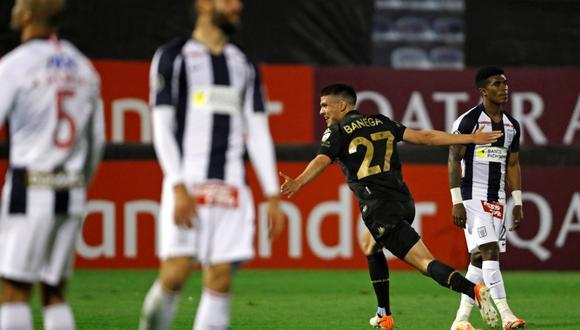 Alianza Lima perdió en los minutos finales ante Racing Club por la Copa Libertadores.