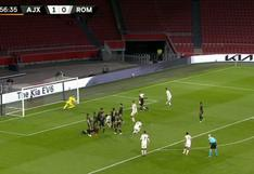 Debut para el olvido: el 'blooper' de arquero de Ajax y gol de Roma en la Europa League [VIDEO]